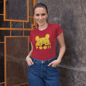 """POOH"" - HALF-SLEEVE WOMEN T-SHIRTS - ANTHERR"