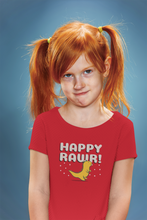 "Load image into Gallery viewer, ""HAPPY ROAR"" KIDS HALF-SLEEVE T-SHIRT - ANTHERR"