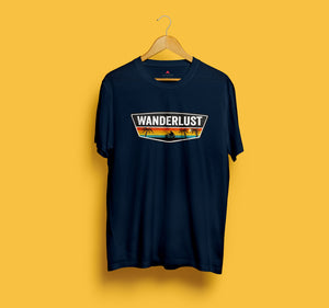 WANDERLUST HALF-SLEEVE T-SHIRT - ANTHERR