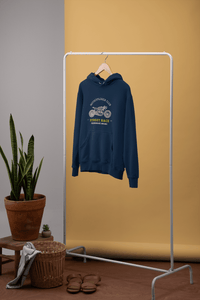 """ STREET RACE ""- MOTO EXPOLRERCLUB - WINTER HOODIES - ANTHERR"