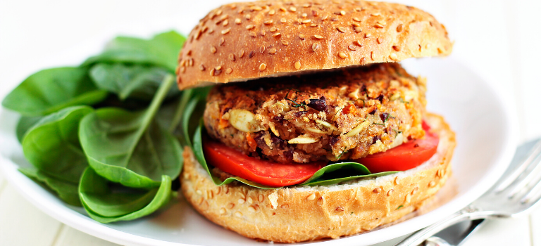 7 Veggie Burgers and Wine Pairings