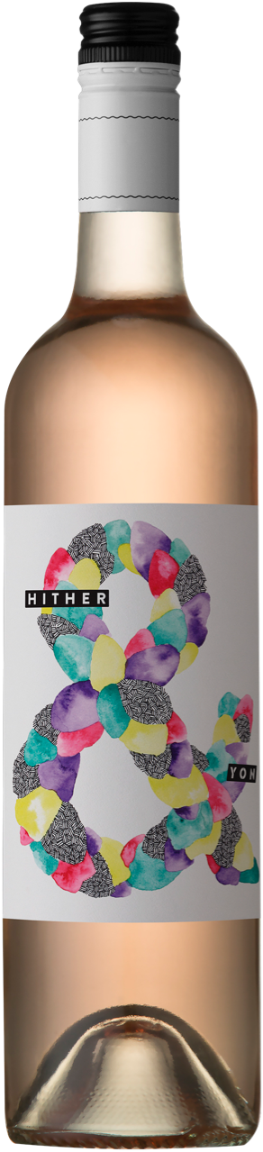 Hither & Yon Vegan Friendly Rosé 2017