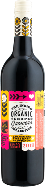 Indigo Grape Growers Collective Organic Cabernet 2019