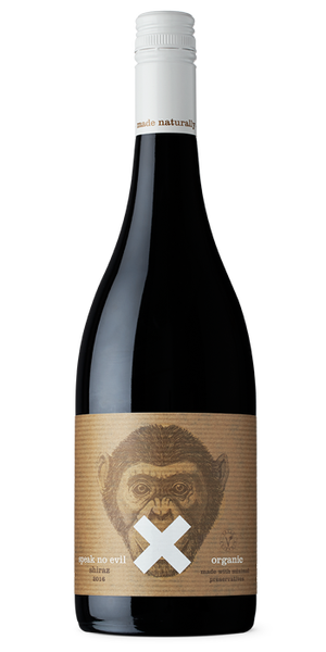Speak No Evil Organic Shiraz 2018