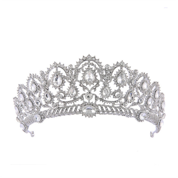Bridal Crystal Tiara Rhinestone Crown Jewelry Decoration for Wedding Engagement