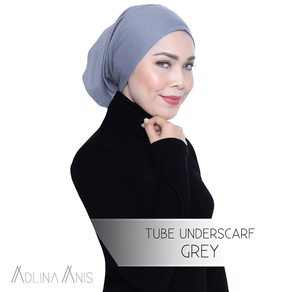 Tube Underscarf - Grey - underscarves - Adlina Anis - Third Culture Boutique