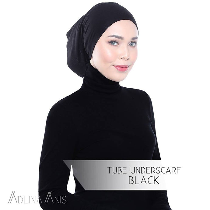 Tube Underscarf - Black - underscarves - Adlina Anis - Third Culture Boutique