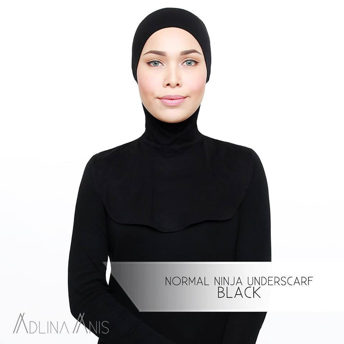 Normal Ninja Underscarf - Black - underscarves - Adlina Anis - Third Culture Boutique