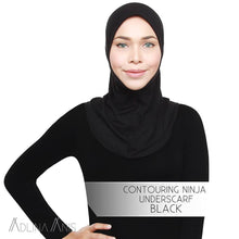 Load image into Gallery viewer, Contouring Ninja Underscarf - Black - underscarves - Adlina Anis - Third Culture Boutique