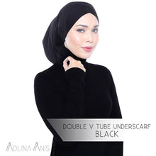 Load image into Gallery viewer, Double V Tube Underscarf - underscarves - Adlina Anis - Third Culture Boutique