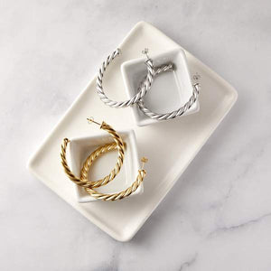 ESSENTIAL BRAIDED HOOPS | EXTRA LARGE