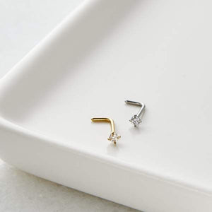 SQUARE NOSE STUD