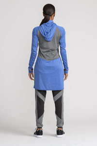 Performance Tech Top - Indigo - sportswear tops - Dignitii Activewear - Third Culture Boutique