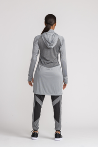 Performance Tech Top - Grey - Third Culture Boutique