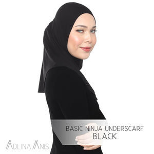 Basic Ninja Underscarf - Black - Third Culture Boutique