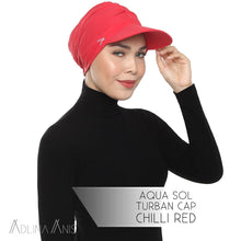 Load image into Gallery viewer, Aqua Sol Turban Cap - Chili Red - sports - Adlina Anis - Third Culture Boutique