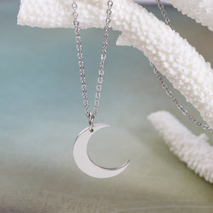 Crescent Moon Necklace - Accessories - Nominal - Third Culture Boutique