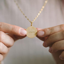 "Load image into Gallery viewer, ""MY VOICE MOVES MOUNTAINS"" NECKLACE 