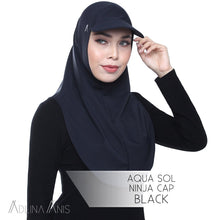 Load image into Gallery viewer, Aqua Sol Ninja Cap - Black - sports - Adlina Anis - Third Culture Boutique
