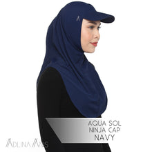 Load image into Gallery viewer, Aqua Sol Ninja Cap - Navy - sports - Adlina Anis - Third Culture Boutique