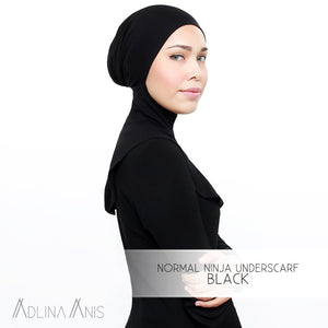 Normal Ninja Underscarf - Black - Third Culture Boutique