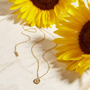 SUNFLOWER NECKLACE
