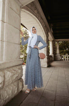 Load image into Gallery viewer, PRE-ORDER: Venetian Maxi Gown - Ocean Gray - Dresses - Niswa Fashion - Third Culture Boutique