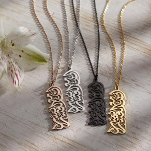 V2 CALLIGRAPHY NECKLACE |