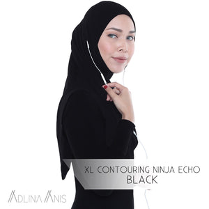 XL Contouring Ninja Echo - Hijabs - Adlina Anis - Third Culture Boutique