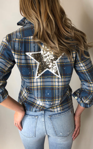Sojara star flannel