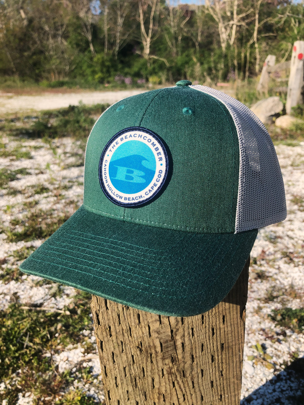Circle B Patch Snapback Hats