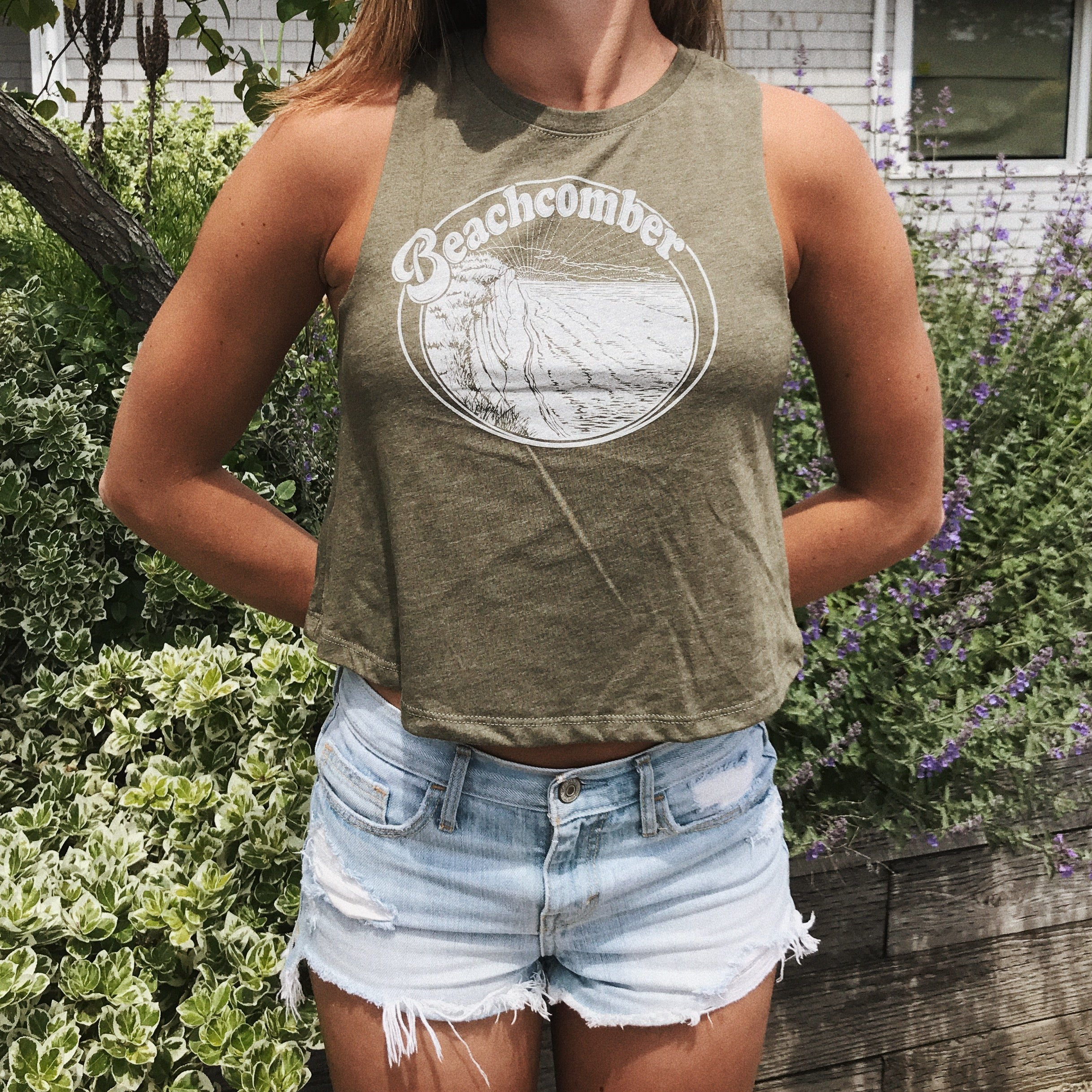 Dune Cropped Tank Top