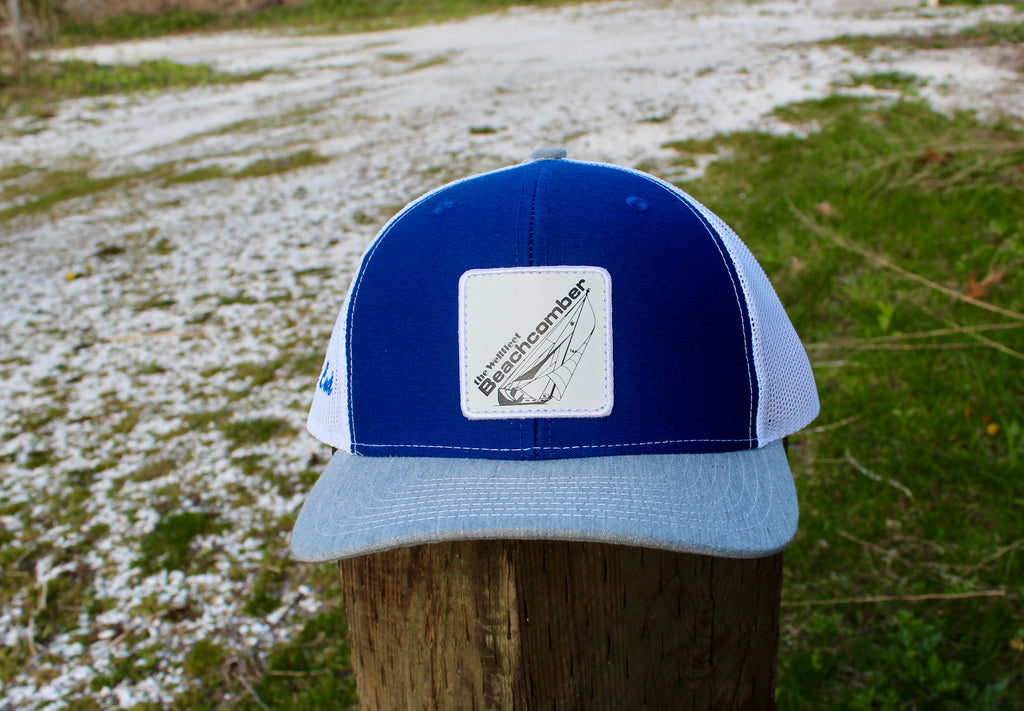 Sailboat Patch Snapback Hats