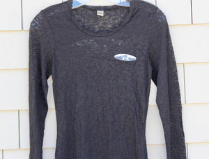 Womens Burnout Long Sleeve
