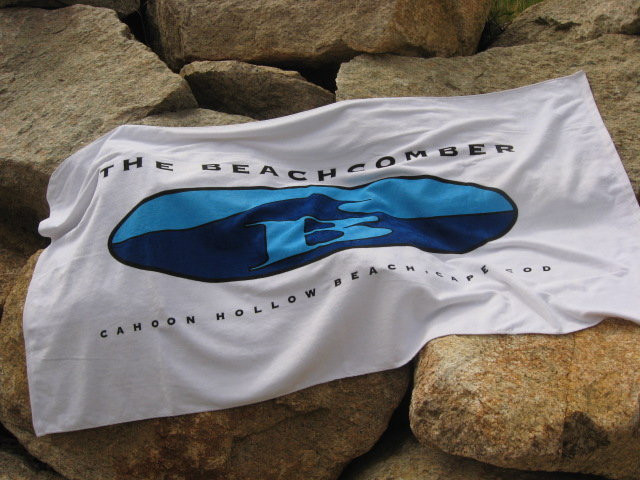 Beachcomber Oval-B Beach Towel