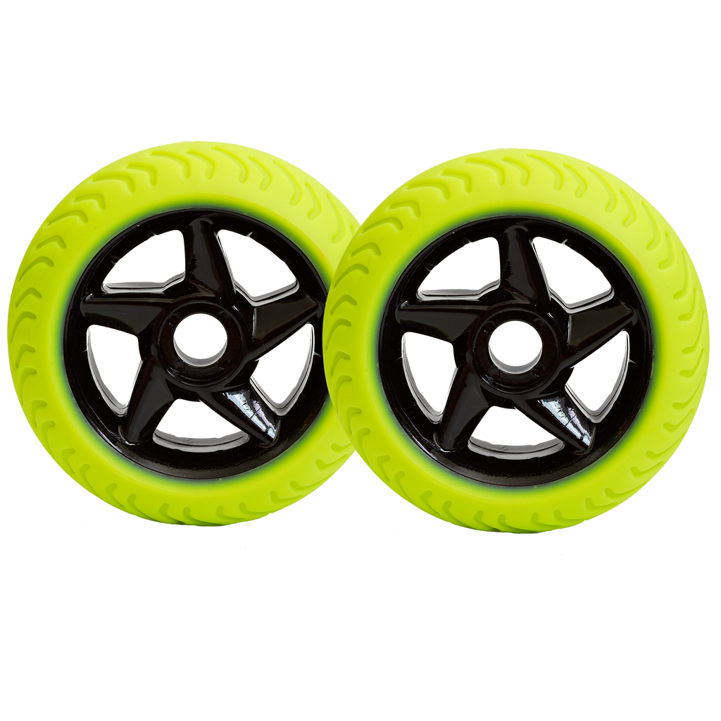 REPLACEMENT WHEELSET FOR RIG 9800 PRO BLACK/NEON
