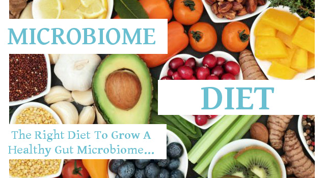 The Right Diet to Grow a Healthy Gut Microbiome