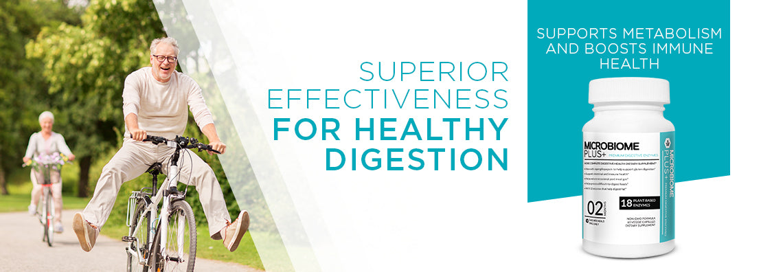 Premium Plant Based Digestive Enzymes Supplement (18 Plant-Based Enzymes)