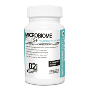 Microbiome Plus+ Premium Digestive Enzymes