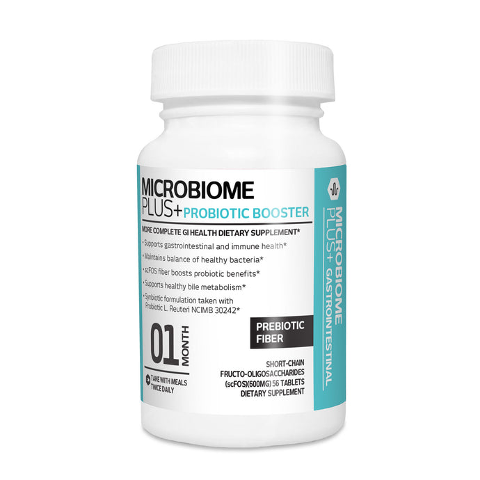 Microbiome Plus+ Prebiotic scFOS Fiber - Boosts Probiotic Benefits