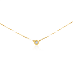 Tous Les Jours Necklace in Diamond