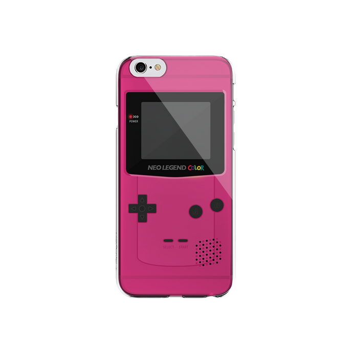 iPhone Case -  Neo Legend Color Pink