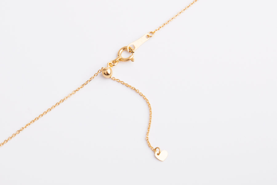 18 Karat Gold Mabe Necklace