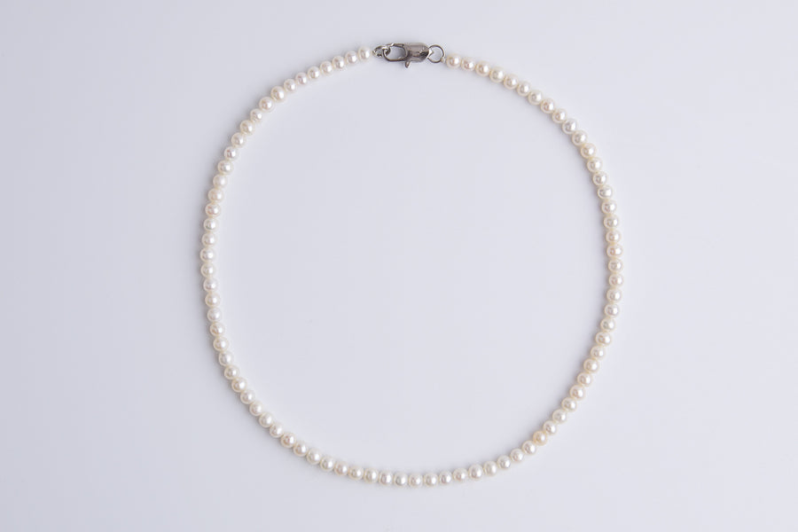 Chelsea Fresh Water Pearl Lace Choker Necklace