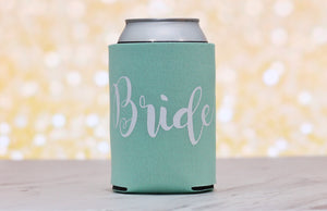 Gift for Bride - Can Cooler - Bride Can Cooler - Bridal Party Gifts - Bachelorette Party - Bachelorette Party Favors