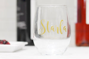 Wine Glasses for Friends - Wine Lover Gift - Bridesmaid Wine Glass - Bridesmaid Proposal - Bridal Party Gifts - Bridesmaid Gift - Christmas