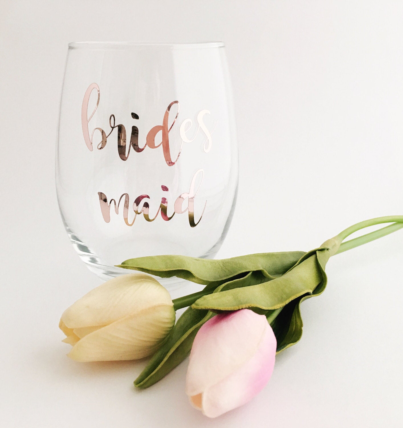 ... Gift for Maid of Honor - Wine Glass - Bridesmaid gift - Bridal Party Gifts ...