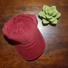 The Belle Hat- Maroon