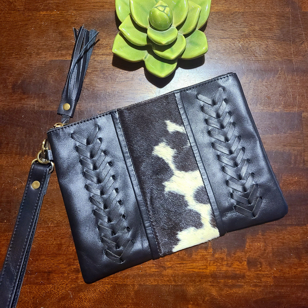 The Elvira Wristlet- Black 1