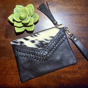 The Elvira Wristlet- Black 5